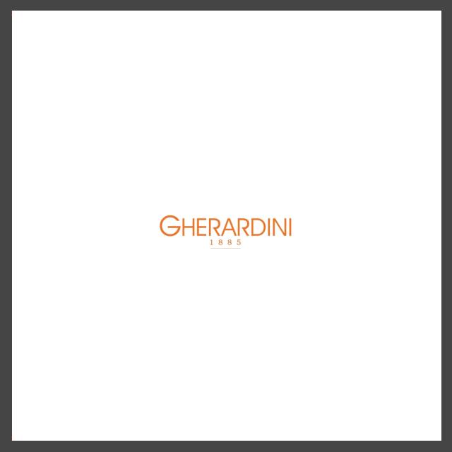 Logo della storica produttrice di borse Gherardini