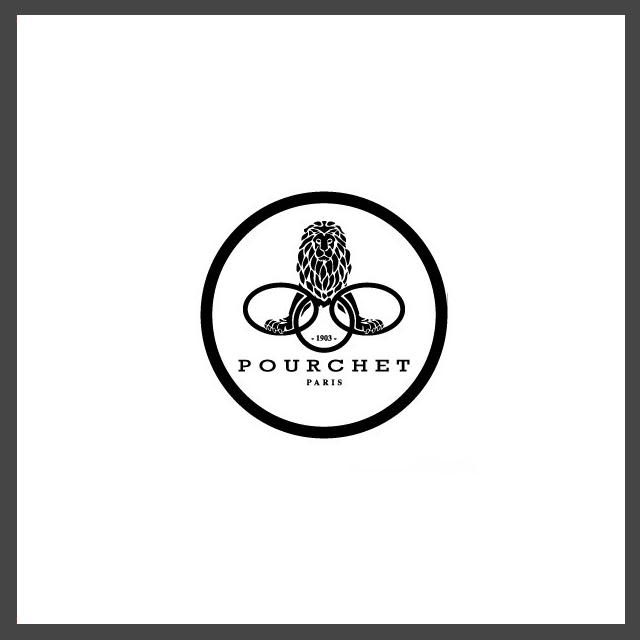 Il leone di Belfort che afferra tre anelli nel logo della nota Maison francese Pourchet Paris