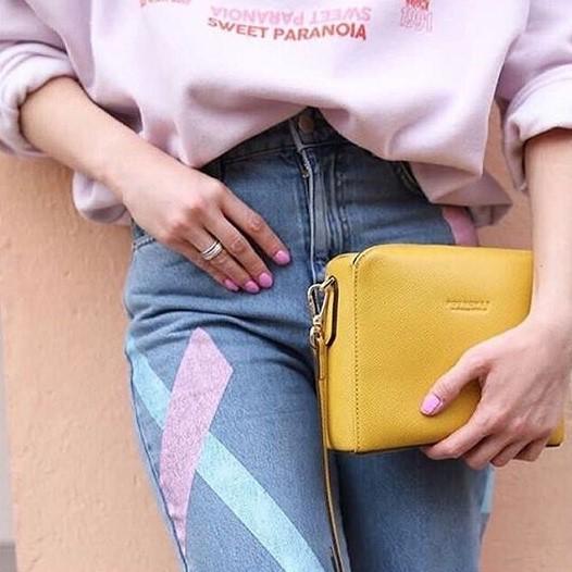 Shoulderbag Mini Cassetta di Pourchet Paris, nuova collezione primavera-estate 2019 da I Segni dello Stile