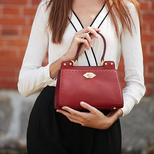 Handbag Trianon di Pourchet Paris, nuova collezione primavera-estate 2019 da I Segni dello Stile
